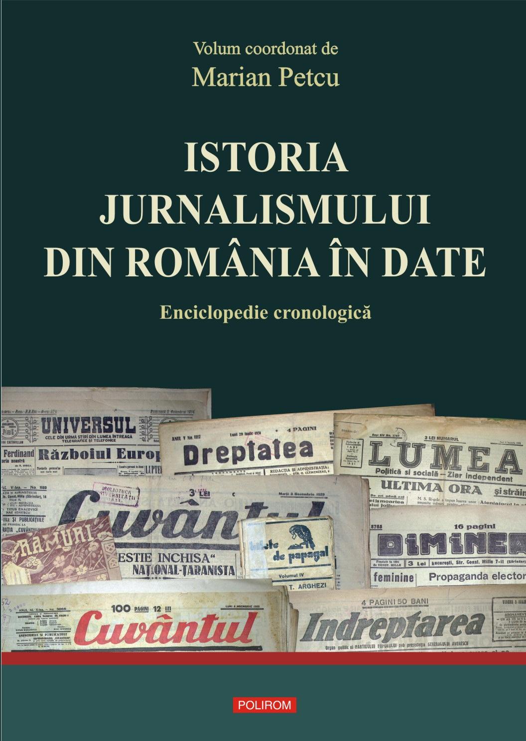 Istoria jurnalismului din Romania in date
