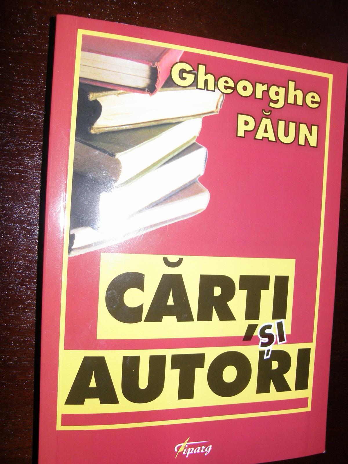 Carti si autori de Gh. Paun