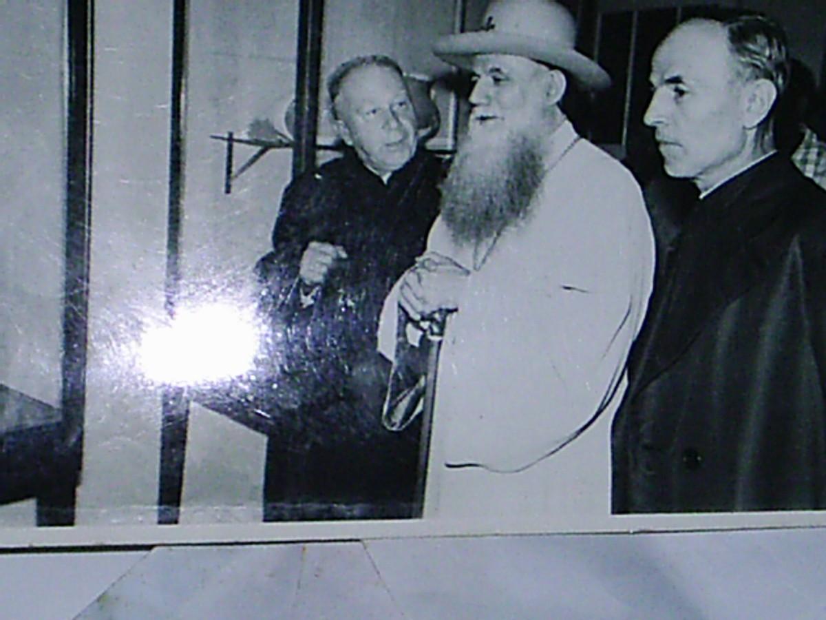 1973 cu Patriarhul Marina la Colectia Gh Petre
