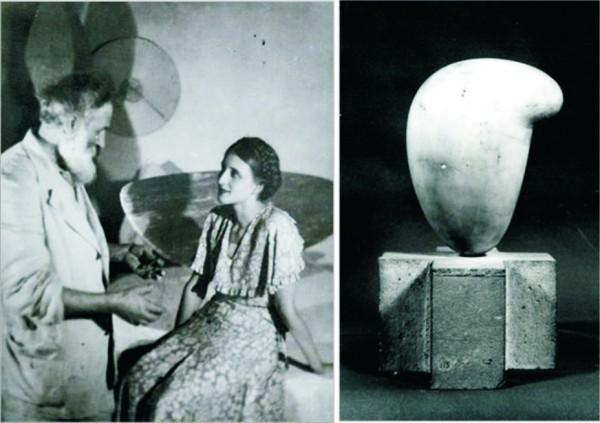 Eileen Lane si Brancusi