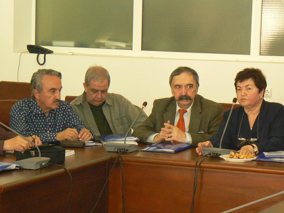 Ion Parhon, Mihai Lungeanu, Doru Moţoc
