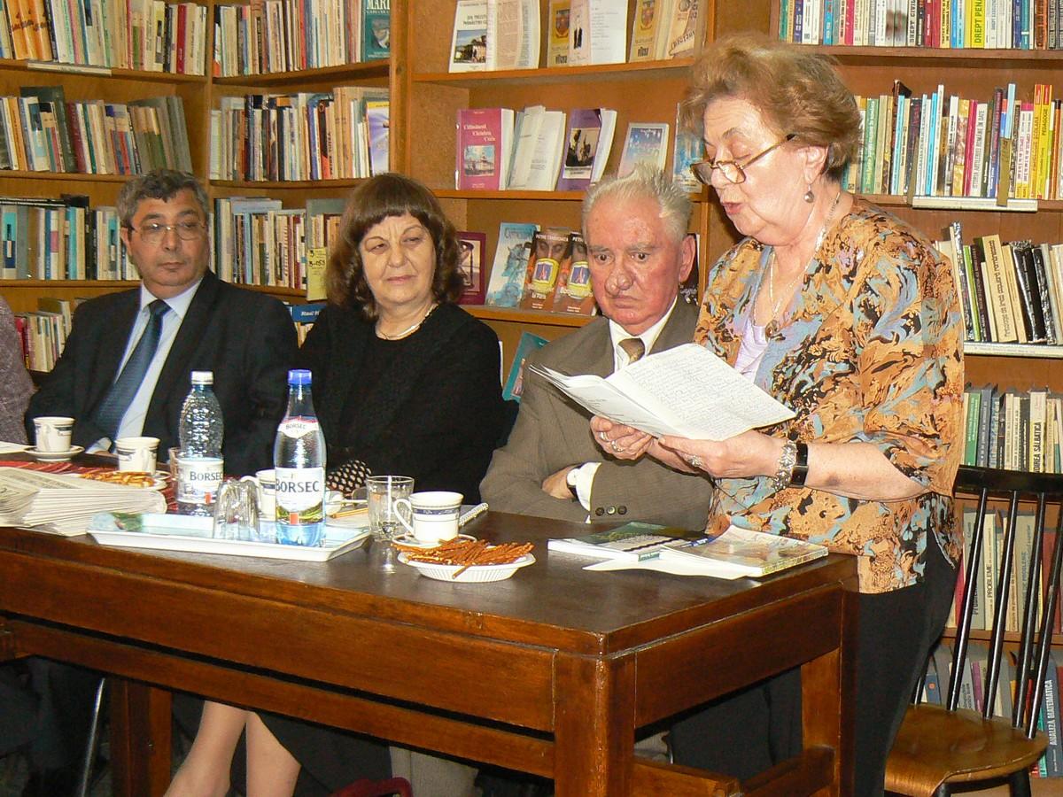 Florinel Constantinescu, Ligia Rizea, Gh Mămularu şi Carmen Damaş