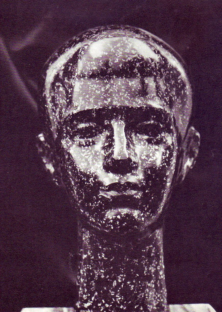 Constantin Lucaci, Cap de copil - granit - ante 1970-Album LUCACI Ed Meridiane 1977