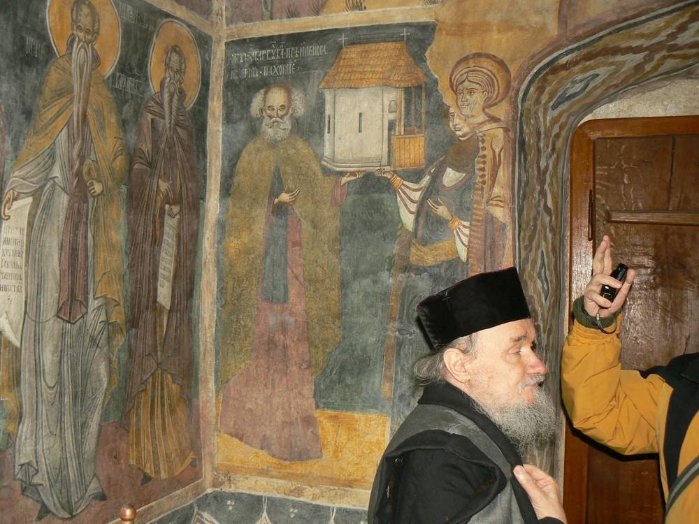 Tablou votiv din Bolniţa bistriţeană