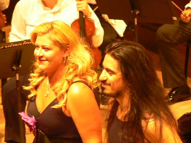 Ioana Lupascu si Lucas Molina - Argentina