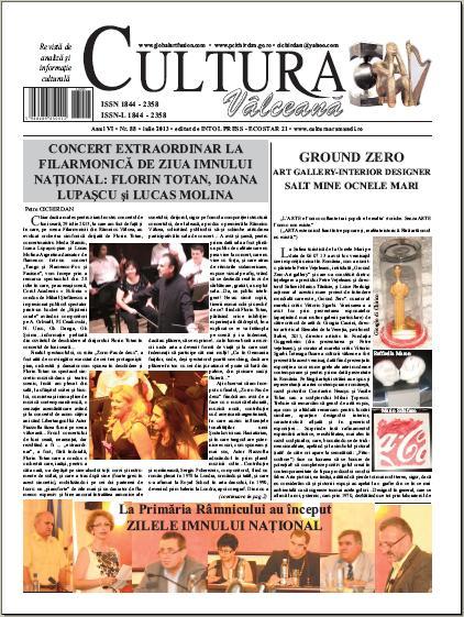 Cultura Valceana iulie 2013