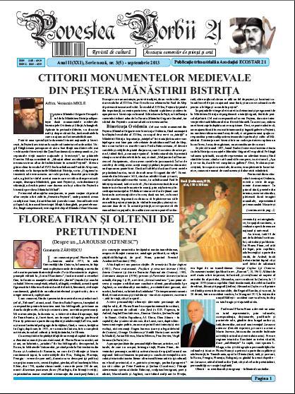 Povestea Vorbii septembrie 2013