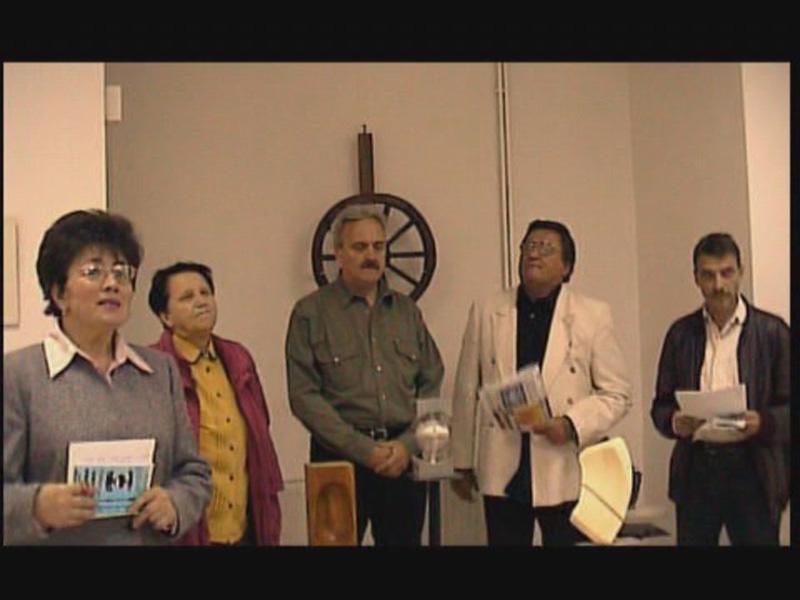 Vernisaj Cluj, 2003, Polul culturii clujene - pictură, sculptură, Alexandra Rus, P Cichirdan, C Zărnescu, Horia Muntenuş