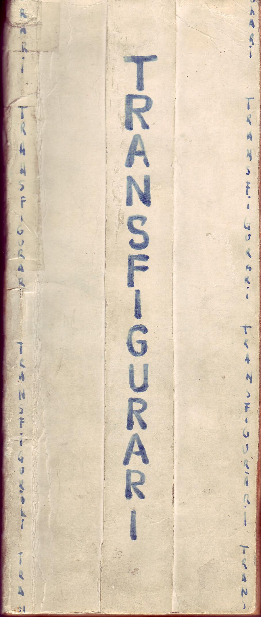 Transfigurări, Ed. Sus Arta, 1968, coperta 1, colecţia C. Poenaru