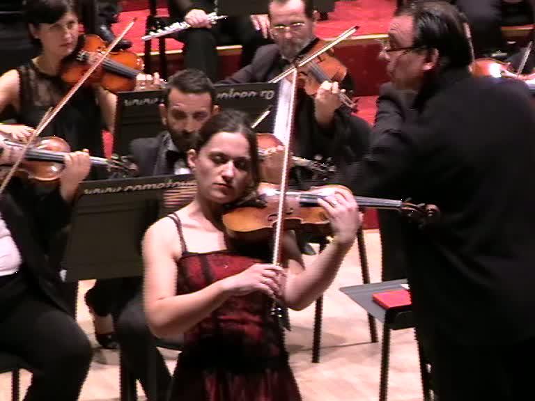 Natalia Colotelo-Pancec, la vioară