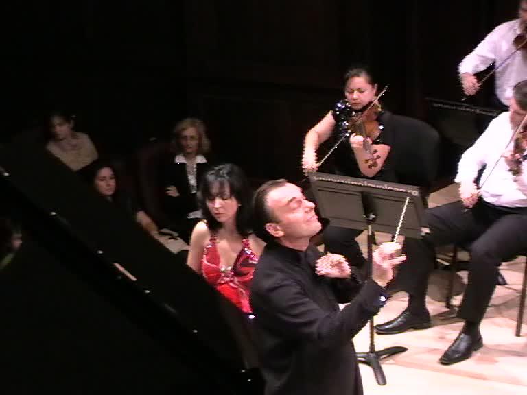 Dirijorul Florin Totan şi Luiza Borac Concert, 08.10.12