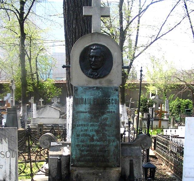 Mormantul lui Mihai Eminescu, Cimitirul Bellu