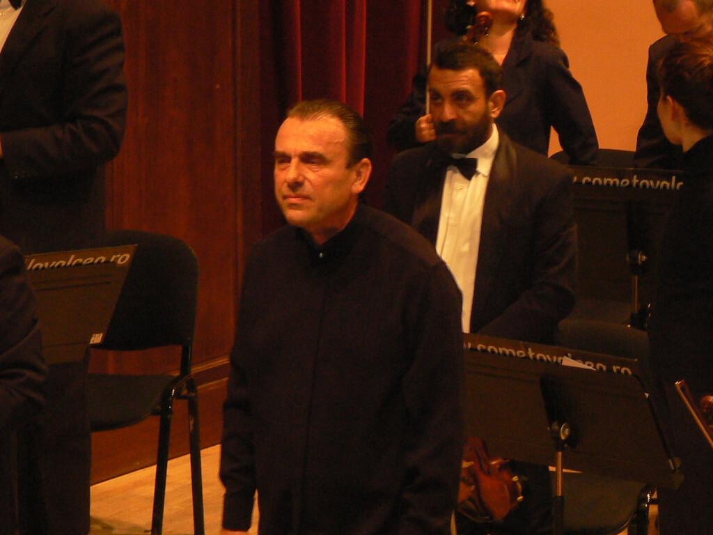 Florin Totan inainte de concert
