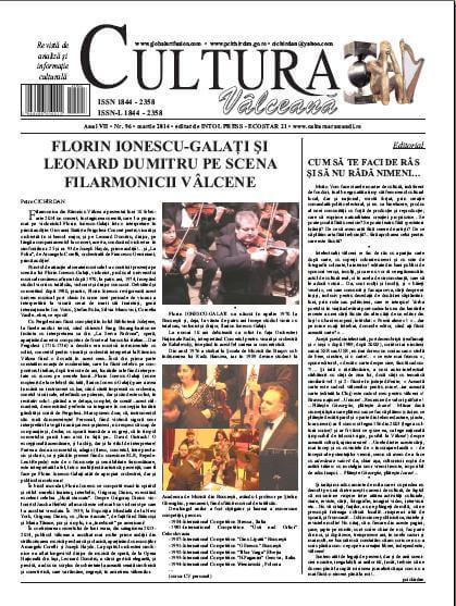 Cultura Valceana martie 2014