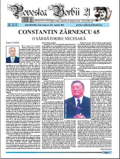 Povestea Vorbii martie 2014