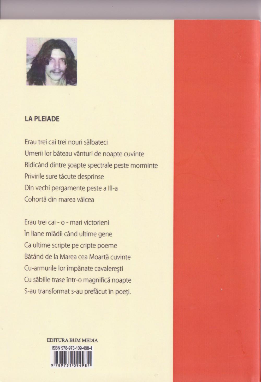 Horia Muntenus, Poesii, verso