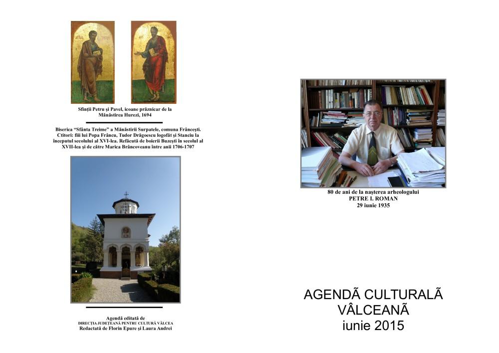 Agenda Culturala Valceana, iunie 2015
