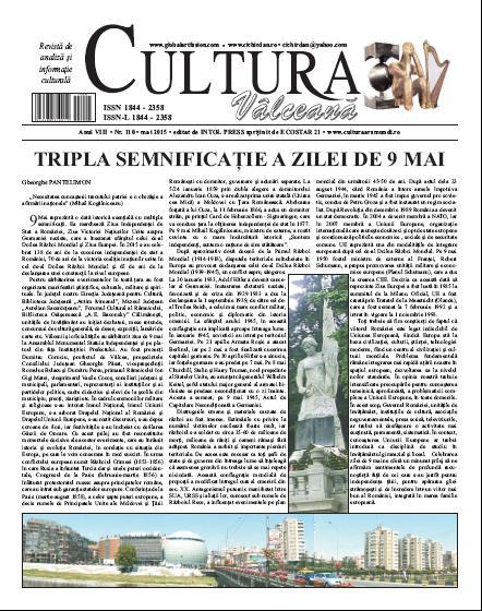 Cultura Valceana mai 2015
