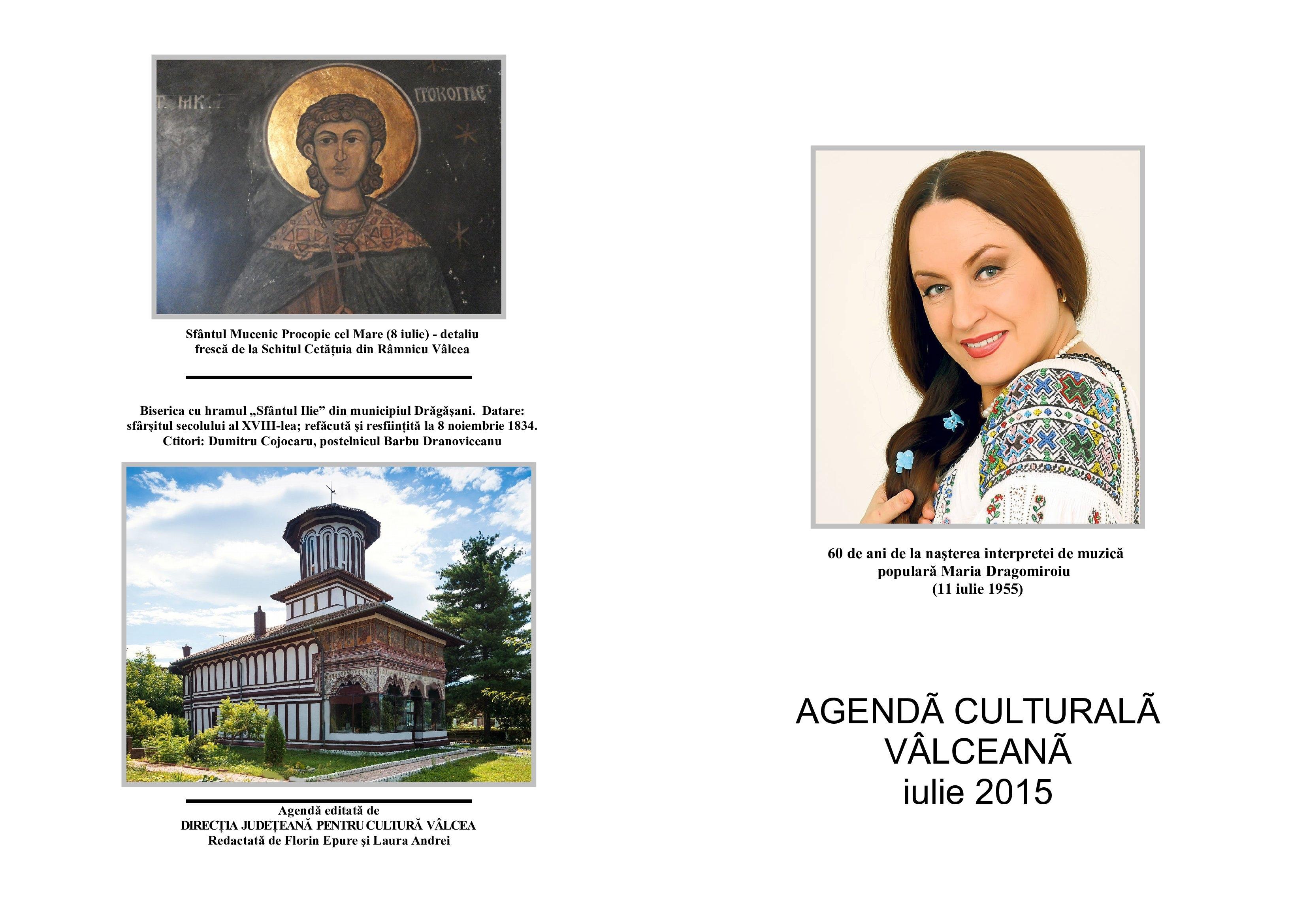 Agenda Culturala Valceana, iulie 2015